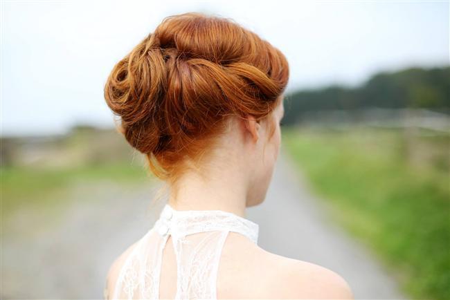 Mükemmel Dağınık Topuz Saç Modelleri-Gelin Saçı (6)