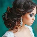 Mükemmel Dağınık Topuz Saç Modelleri-Gelin Saçı (9)