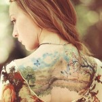 Pinteres'in En Güzel 25 Dövme Modeli - Tatto- The 40 most beautiful tattoos Pinterest-Idee-tatouage-une-aquarelle