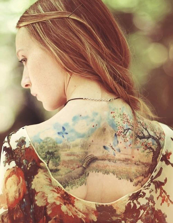Pinteres'in En Güzel 25 Dövme Modeli - Tatto- The 40 most beautiful tattoos Pinterest-Idee-tatouage-une-aquarelle