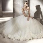 Straplez Prenses Gelinlik Modelleri - Best Strapless Wedding Dresses (1)