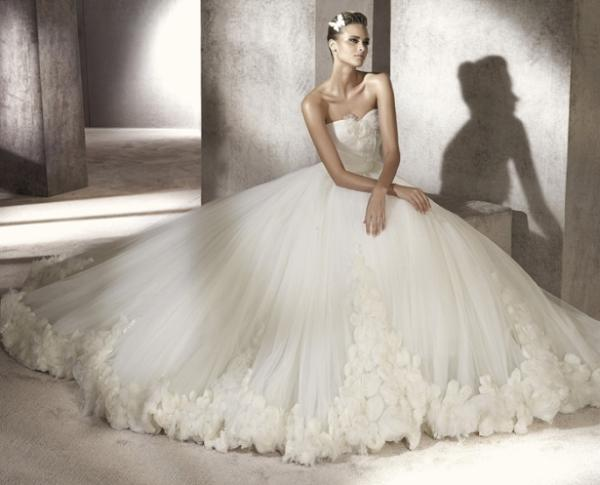 Straplez Prenses Gelinlik Modelleri - Best Strapless Wedding Dresses (1)