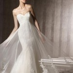 Straplez Prenses Gelinlik Modelleri - Best Strapless Wedding Dresses (34)
