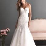 Straplez Prenses Gelinlik Modelleri - Best Strapless Wedding Dresses (39)