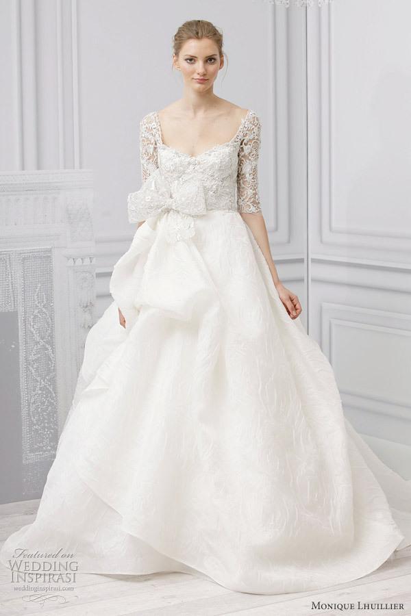 Straplez Prenses Gelinlik Modelleri - Best Strapless Wedding Dresses (43)