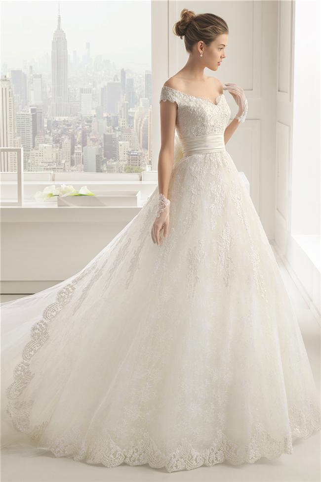 Straplez Prenses Gelinlik Modelleri - Best Strapless Wedding Dresses (46)
