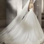 Straplez Prenses Gelinlik Modelleri - Best Strapless Wedding Dresses (47)