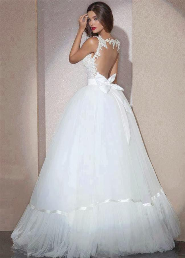 Straplez Prenses Gelinlik Modelleri - Best Strapless Wedding Dresses (48)