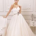 Straplez Prenses Gelinlik Modelleri - Best Strapless Wedding Dresses (54)