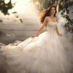 Straplez Prenses Gelinlik Modelleri - Best Strapless Wedding Dresses (55)