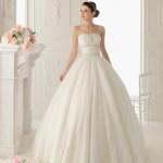 Straplez Prenses Gelinlik Modelleri - Best Strapless Wedding Dresses (56)
