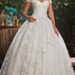 Straplez Prenses Gelinlik Modelleri - Best Strapless Wedding Dresses (58)