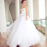 Straplez Prenses Gelinlik Modelleri - Best Strapless Wedding Dresses (60)