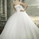 Straplez Prenses Gelinlik Modelleri - Best Strapless Wedding Dresses (62)