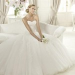 Straplez Prenses Gelinlik Modelleri - Best Strapless Wedding Dresses (64)