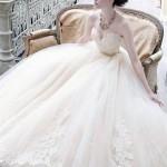 45 Dekolteli Prenses Gelinlik Modelleri
