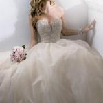 Straplez Prenses Gelinlik Modelleri - Best Strapless Wedding Dresses (66)