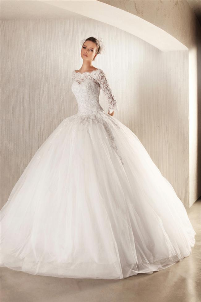 Straplez Prenses Gelinlik Modelleri - Best Strapless Wedding Dresses (68)