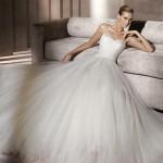 Straplez Prenses Gelinlik Modelleri - Best Strapless Wedding Dresses (69)