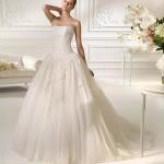 Straplez Prenses Gelinlik Modelleri - Best Strapless Wedding Dresses (70)