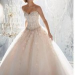 Straplez Prenses Gelinlik Modelleri - Best Strapless Wedding Dresses (71)
