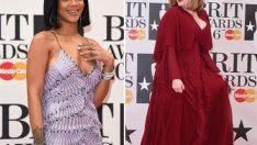 2016 Brit Müzik Ödüllerinde Ünlü Kadınlar Ne Giydi?