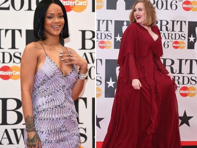 2016 Brit Müzik Ödüllerinde Ünlüler Ne Giydi?