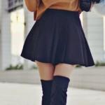 En Seksi Kışlık Elbise  Kombinleri (13)