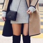 En Seksi Kışlık Elbise  Kombinleri (16)