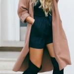 En Seksi Kışlık Elbise  Kombinleri (2)