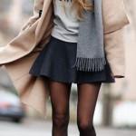 En Seksi Kışlık Elbise  Kombinleri (3)