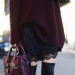 En Seksi Kışlık Elbise  Kombinleri (6)