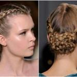 Gelinler İçin Örgülü Saç Modelleri (1)
