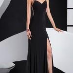 Siyah Uzun Abiye Modelleri  Gece Elbiseleri (12)