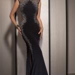 Siyah Uzun Abiye Modelleri  Gece Elbiseleri (13)