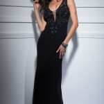 Siyah Uzun Abiye Modelleri  Gece Elbiseleri (14)
