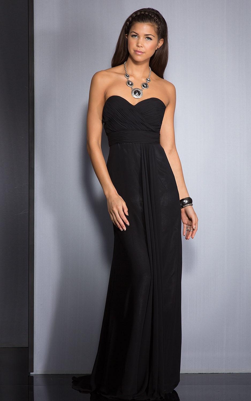 Siyah Uzun Abiye Modelleri  Gece Elbiseleri (15)