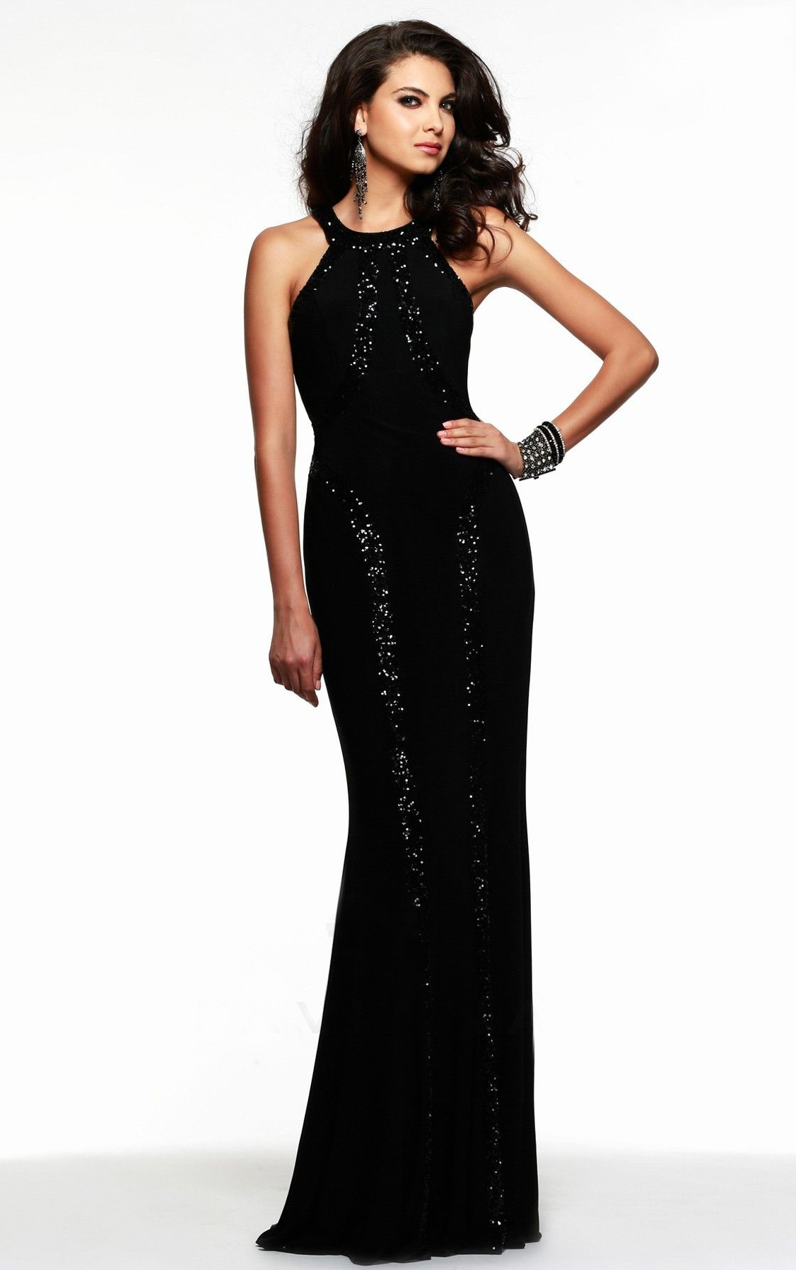 0acc7366f1190 Siyah Abiye Elbise Modelleri - En Şık Gece Elbiseleri | SadeKadınlar ...