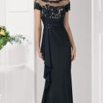 Siyah Uzun Abiye Modelleri  Gece Elbiseleri (2)