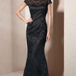 Siyah Uzun Abiye Modelleri  Gece Elbiseleri (25)