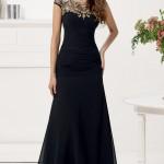 Siyah Uzun Abiye Modelleri  Gece Elbiseleri (3)