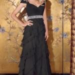 Siyah Uzun Abiye Modelleri  Gece Elbiseleri (4)