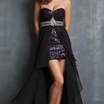 Siyah Uzun Abiye Modelleri  Gece Elbiseleri (6)