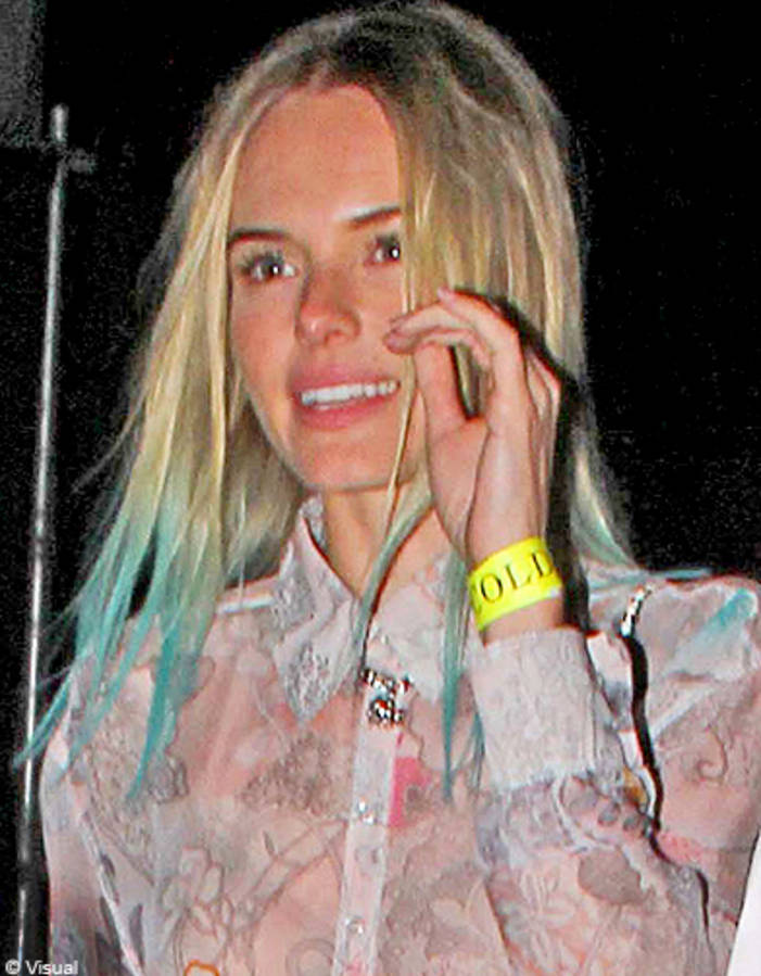 The bicolor-ombre long hair of Kate Bosworth