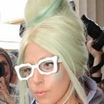 The bun of Lady Gaga