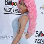 The rose hair chevelur Nicki Minaj