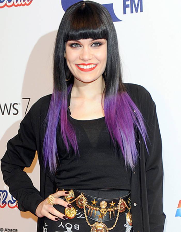 The two-tone hair Jessie J