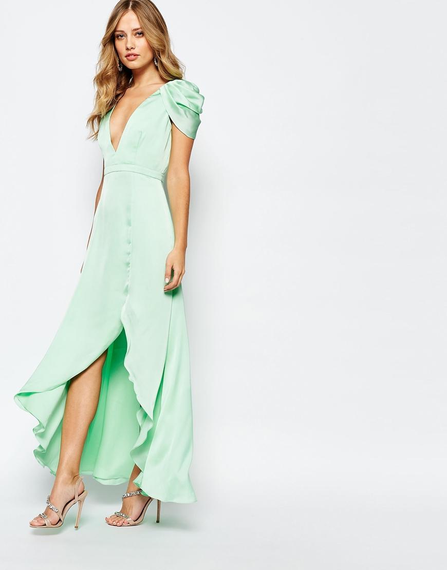 En Şık Mavi Uzun Abiye Modelleri 2018