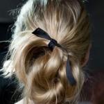 En Güzel Kurdeleli Enfes Saç Modelleri
