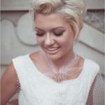 Kısa Gelin Saçı Modelleri - kısa saç modelleri - Saç Kesim Modelleri